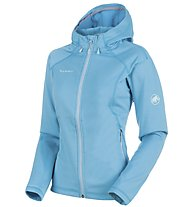 Mammut Runbold ML - Fleecejacke mit Kapuze - Damen, Light Blue
