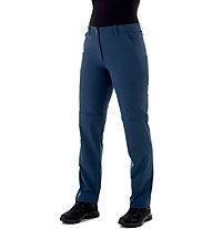 Mammut Runbold Zip-Off - Wander- und Trekkinghose - Damen, Blue