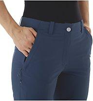 Mammut Runbold Zip-Off - pantaloni trekking - donna, Blue