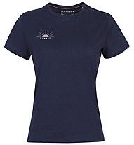 Mammut Seile - T-Shirt - Damen, Blue