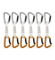 Mammut Sender Keylock 12 cm 6-Pack - Expressset, Grey/Orange