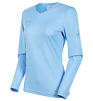 Mammut Sertig LS - Damen-Langarm-Shirt, Light Blue