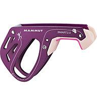 Mammut Smart 2.0 - assicuratore/discensore, Dark Pink