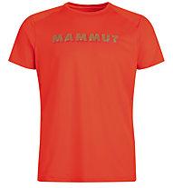 Mammut Splide Logo - Herren-T-Shirt, Red