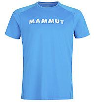 Mammut Splide Logo - Herren-T-Shirt, Blue