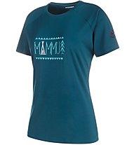 Mammut Trovat Advanced - Trekking T-Shirt - Damen, Blue
