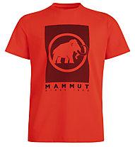 Mammut Trovat  - Herren-T-Shirt, Red