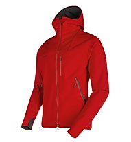Mammut Ultimate Hoody - Softshelljacke Trekking - Herren, Red