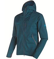 Mammut Ultimate Hoody Men Herren Softshelljacke mit Kapuze, Blue