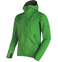 Mammut Ultimate Hoody Men Herren Softshelljacke mit Kapuze, Green