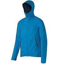 Mammut Ultimate - giacca softshell con cappuccio trekking - uomo, Light Blue