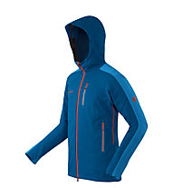 Mammut Ultimate Nordpfeiler Giacca Softshell, Dark Cyan/Orange
