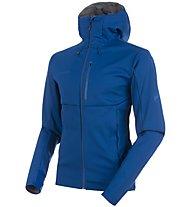 Mammut Ultimate V So - giacca softshell - uomo, Blue