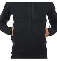 Mammut Ultimate V SO - Herren-Softshell-Kapuzenjacke, Black