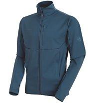 Mammut Ultimate V So - giacca a vento trekking - uomo, Blue