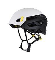 Mammut Wall Rider MIPS - casco arrampicata, White/Black/Yellow