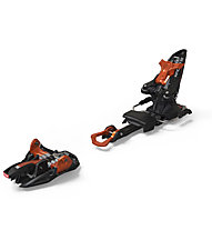 Marker Kingpin 10 Brake 75-100 mm - attacco scialpinismo/freeride, Black/Copper