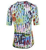 Mbwear Comfort - maglia bici - uomo , Blue/Pink/Green