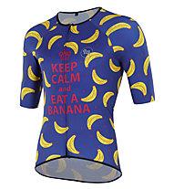Mbwear Comfort - maglia bici - uomo , Blue/Yellow