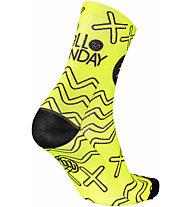 Mbwear Fun - Radsocken, Yellow/Black