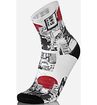Mbwear Fun - Radsocken, White/Black/Red
