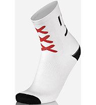 Mbwear Fun - Radsocken, White/Red/Black