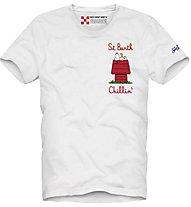 Mc2 Saint Barth T-Shirt - Herren , White