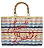 Mc2 Saint Barth Victoria Crochet - Tasche, Red/Blue