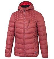 Meru Abbotsford Down - Giacca con cappuccio trekking - uomo, Dark Red