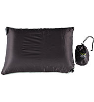 Meru Air-Core Pillow Ultralight - cuscino campeggio, Grey/Black