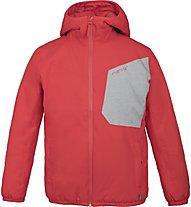 Meru Allanton - giacca con cappuccio trekking - bambino, Red