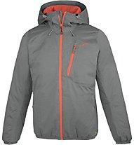 Meru Allanton Melange - giacca con cappuccio - uomo, Grey/Orange
