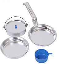 Meru Alu Cooking Set 5 - Kochset, Aluminium
