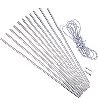 Meru Alu Pole Kit 8,5mm/465cm - paleria per tenda, Aluminium