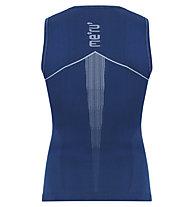 Meru Angoon SL - top funzionale - uomo, Blue/Grey