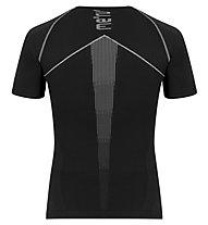 Meru Angoon SS - maglietta tecnica - uomo, Black/Grey