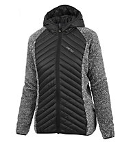 Meru Arapuri Hybrid - giacca ibrida trekking - donna, Black