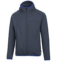 Meru Arvada - giacca in pile con cappuccio trekking - uomo, Blue