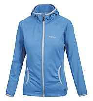 Meru Arvada - Fleecejacke mit Kapuze - Damen, Light Blue