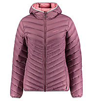Meru Ashburton Solid - giacca in piuma con cappuccio - donna, Violet