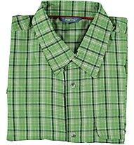 Meru Asker - camicia a manica corta trekking - uomo, Green