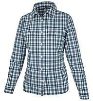 Meru Bayonne - camicia a maniche lunghe trekking - donna, Blue