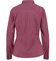 Meru Bayonne LS - camicia - donna, Red