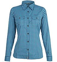 Meru Bayonne LS - Bluse - Damen, Light Blue