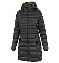 Meru Belleville - giacca con cappuccio - donna, Black/Green