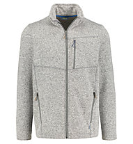 Meru Bergen - giacca in pile - uomo, Grey