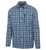 Meru Bossost - camicia a maniche lunghe trekking - uomo, Blue