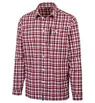 Meru Bossost - camicia a maniche lunghe trekking - uomo, Red