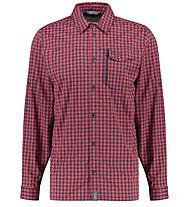 Meru Bossost L/S - camicia a manica lunga  - uomo, Red