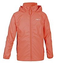 Meru Rain - Windjacke Wandern - Kinder, Orange